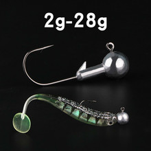 10 PSC/Lot 2g 3.5g 5g 7g 10g 12g 14g Crank Lead Head Hook Jig Bait Fishing Hook For Hard Bait Soft Worm Lures Fishing Tackle 1 5g 14g enhanced hook crank head hook fishing hook lead head lure hard bait soft worm small package foot sharp for fish hook