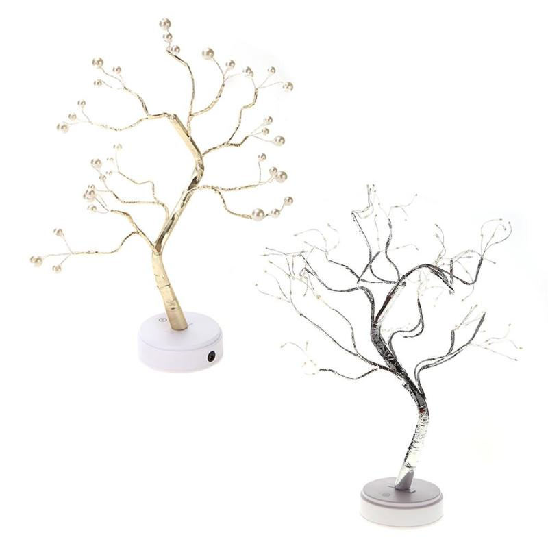 Rational Creative Touch Tree Branch Led Light Indoor Bedroom Decor Lighting Lamp At All Costs