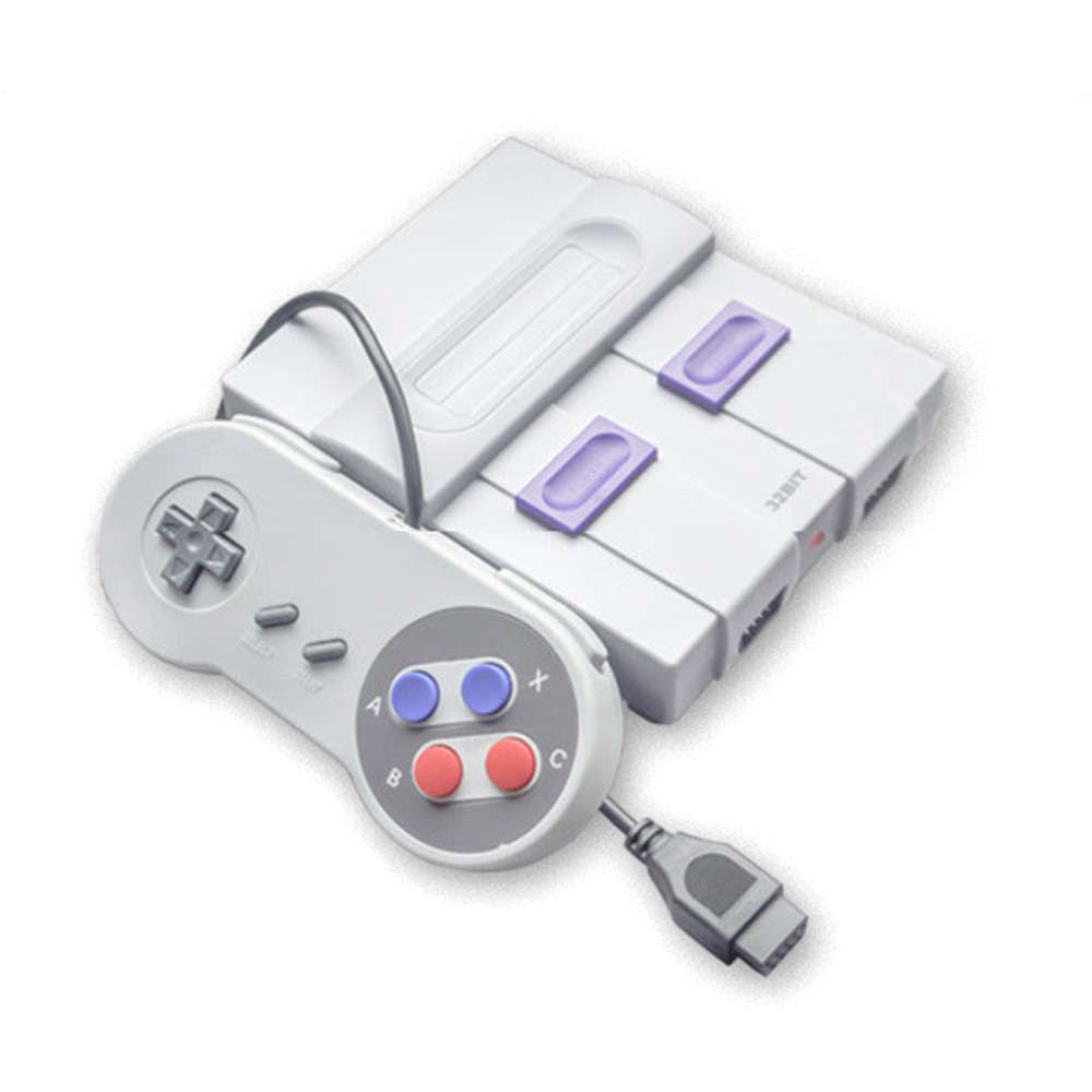 Mini Classical Family TV Game Console 32 Bit HD TV Gaming Machine Dual Gamepads Home Use