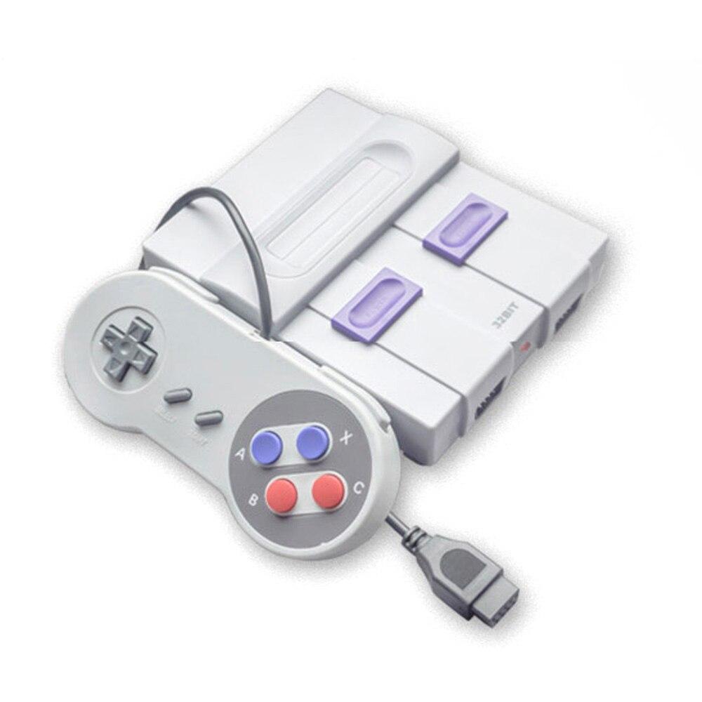 Mini Klassische Familie TV Spielkonsole 32 Bit HD TV Gaming Maschine Dual Gamepads Heimgebrauch mit TF Karte Eingebaute 100 spiele-in Videospielkonsolen aus Verbraucherelektronik bei  Gruppe 1