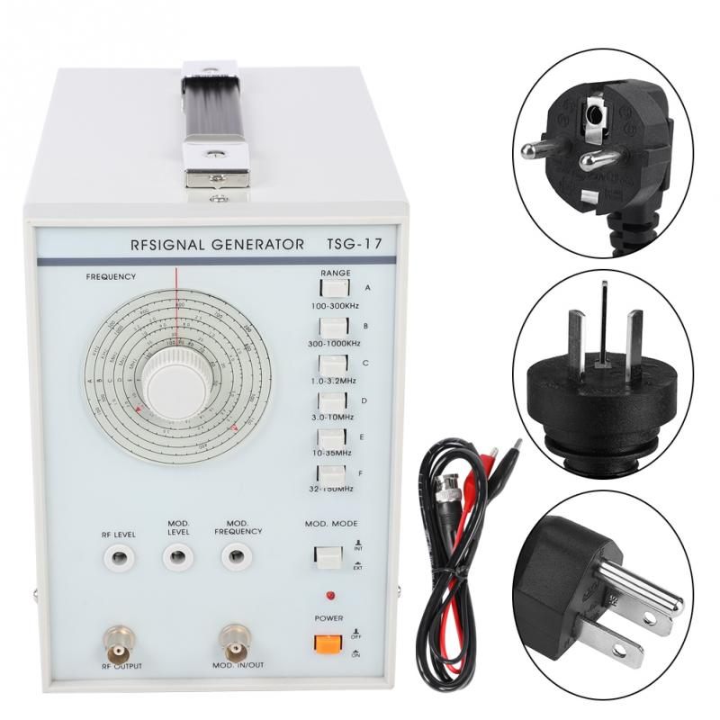 220V 110V Signal Generator TSG 17 High Frequency Signal Generator RF Radio Frequency Signal Generator High