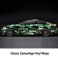 Styling Stickers for car Vehicle body Waterproof PVC camouflage film Roof Sticker Camouflage Vinyl Film Vinyl Car Wrap