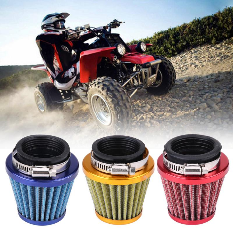 44mm Motorcycle Air Filter for Gy6 150cc ATV Quad 4 Wheeler Go Kart Buggy Scooter Moped Motorbike Air Filter Car Accessories