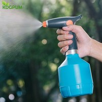 1L Fine Mist Mini Plant Watering Can Electric Sprayer Garden Plastic Sprinkler High Pressure Household Water Spray Kettle|Water Cans| |  -
