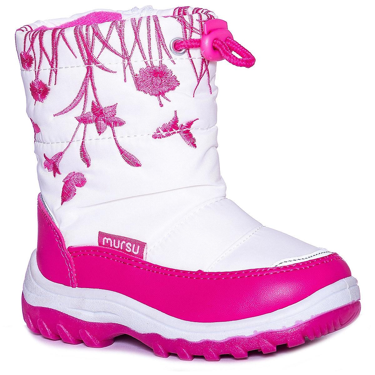 MURSU Boots 8739369 Winter Girls Wool Children Shoes Girl MTpromo