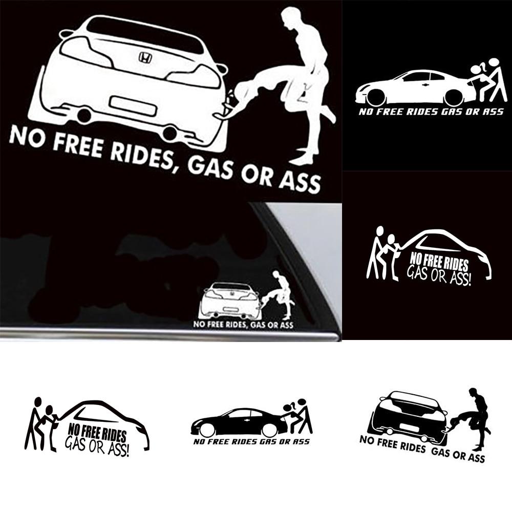 Funny Car Sticker Lowered Truck Boat Window Bumper Waterproof Vinyl Decal Hot