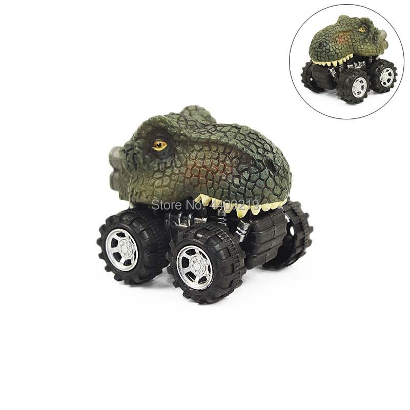 6 Arten Dinosaurier Tyrannosaurus Tatankacephalus Dilophosaurus - Druckguss- und Spielzeugfahrzeuge - Foto 3
