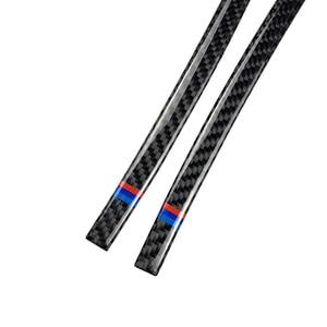 Image 3 - Espejo retrovisor de fibra de carbono para coche, tira anticolisión, cubierta antifricción, para BMW X3, X4, X5, X6, F25, F26, F15, F16, 2 uds.