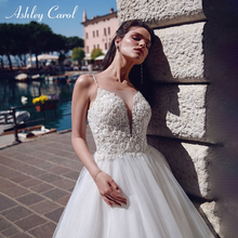 Ashley Carol Beach Wedding Dress Beaded Deep Bride Dresses