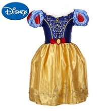 Disney Princess Dress Small And Medium Girl Snow White Childrens Cute Comfortable