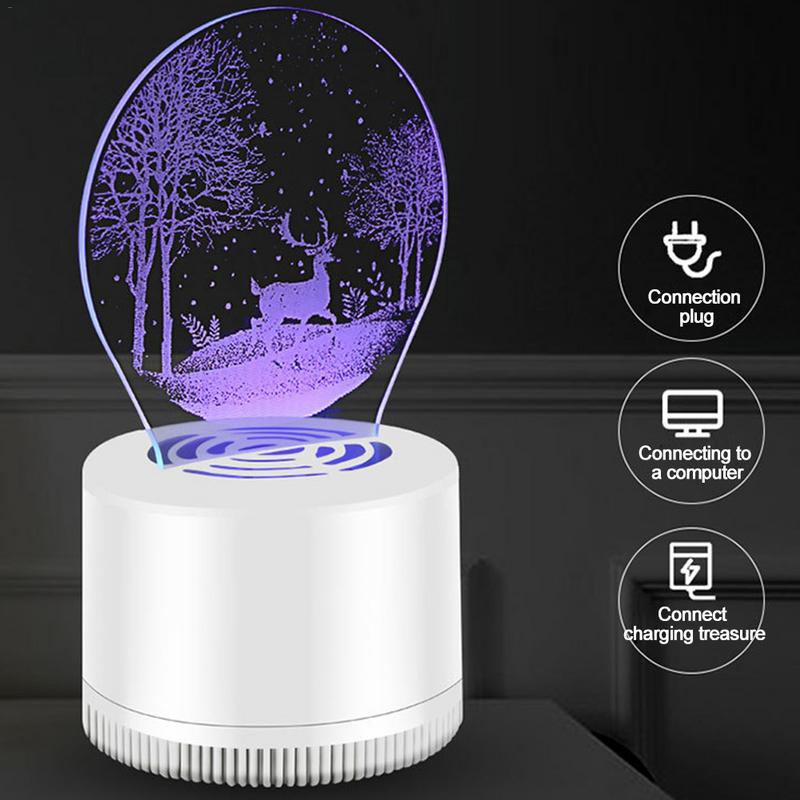 Creative  Mosquito Control Lamp USB Decorative Night Lamp LED Household Mosquito Control Device Lamp Eco Friendly