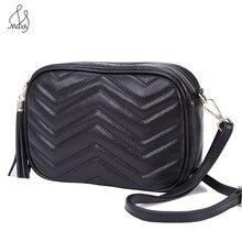 Moda sosyetik hakiki yumuşak inek derisi inek deri geometrik postacı çantası çanta kadın çantası tasarımcı çantaları debriyaj Maidy