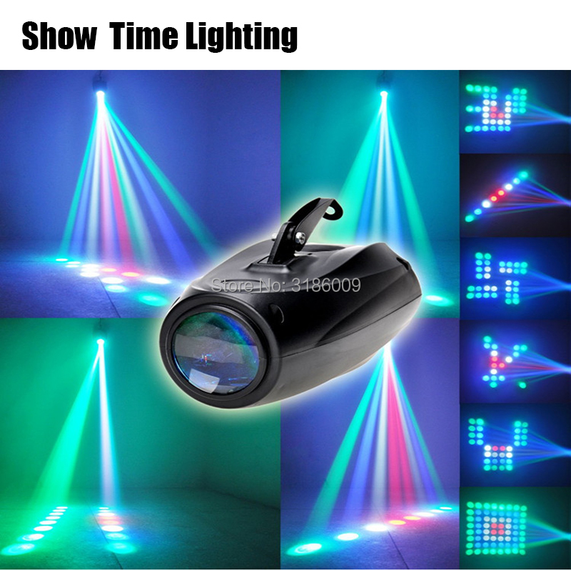 SHOW TIME LED airship Moon flower light Home entertainment DJ party Disco light Auto Sound Model work Carton Building block