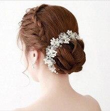 New fashion fresh bride bridesmaid hair accessories wedding photography headdress