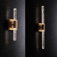 Современный светодиодный пузырьковый кристалл настенный светильник для столовой прикроватный шампанского Золотой Настенный бра светильн