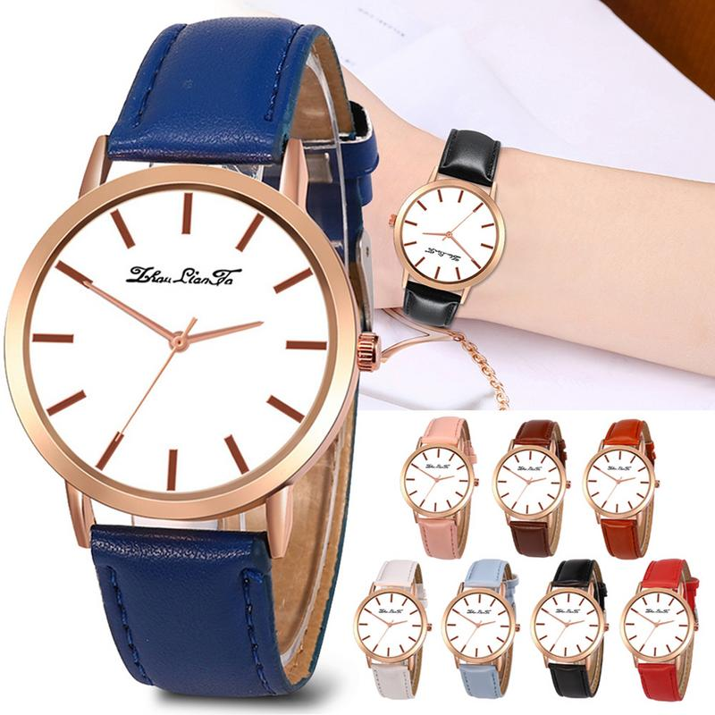 Korean casual business high-end watches Korean version of the belt strap gift watch