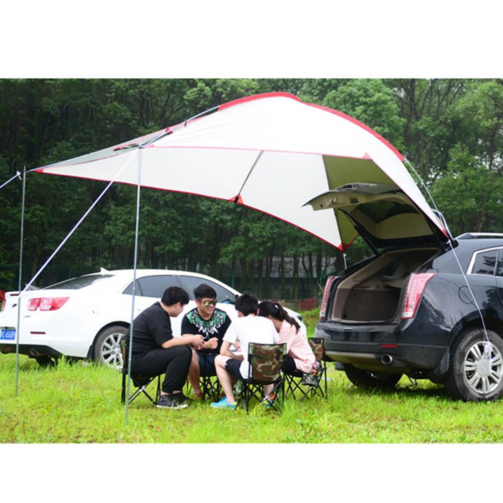 Imperméable à l'eau De Voiture Parasol Portable Camping En Plein Air Soleil Abri Tente avec Écran Fenêtre Poupée Météo Boîtier Parasol Pique-Nique