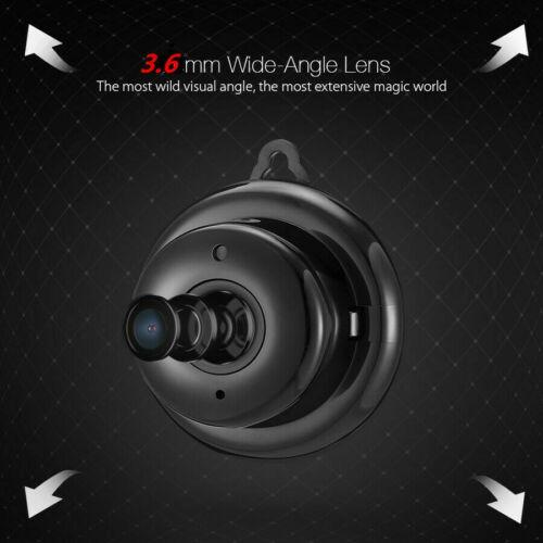 HD 1080P Wireless IP Camera WIFI Indoor Roundness Minitype Security Camera
