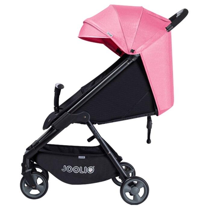 JOOLIO LX5012 pliable sûr pratique bébé poussette quatre roues haute qualité nouveau-né poussette avec tissu lavable imperméable