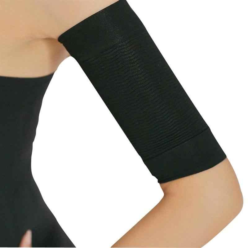 1 пара сжигать жир потеря веса Arm Shaper жир Бастер от целлюлита ремень-обертка для похудения группа для женщин леди девушка