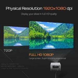 Image 4 - جهاز عرض عالي الدقة من AUN طراز J20 ، 1920*1080P ، يعمل بنظام الأندرويد والواي فاي ، وبطارية 10000mAH ، جهاز عرض DLP محمول. دعم 4K ثلاثية الأبعاد متعاطي المخدرات