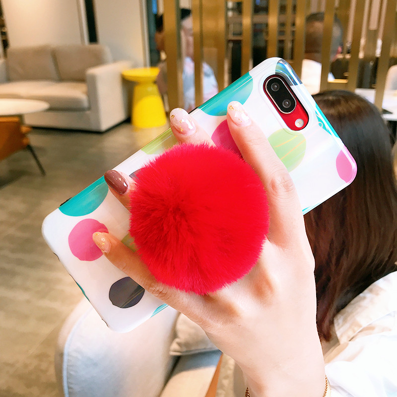 Univeral Mobile Phone Holder cute Plush Colorful Pop Cellphone Tablet Desktop st