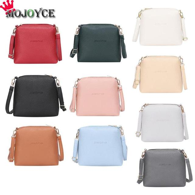 b5e10682f081 Women handbags pu leather female messenger bags smart lady casual Mini  shoulder bag girl brand crossbody bag drop shipping Chain