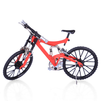 2019 Popular Mini DIY Bicycle Model Simulated Durable Bike Figure for Tabletop Decoration Model Kit for Children Gift