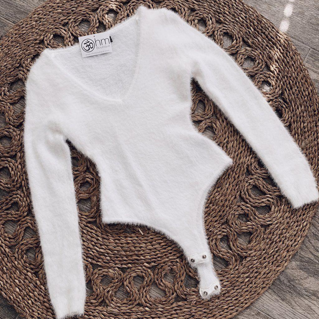 Women Lady Long Sleeve Shirt Romper Jumpsuit Bodysuit Stretch Leotard Top Blouse