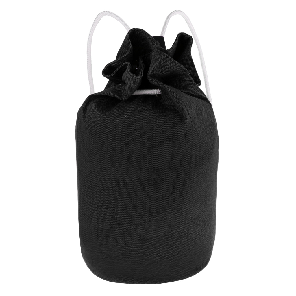Universal Portable Canvas Drawstring Backpack - Gym Sack Pack Canvas Drawstring Backpack Soccer Pocket Adults Travel Storage Bag