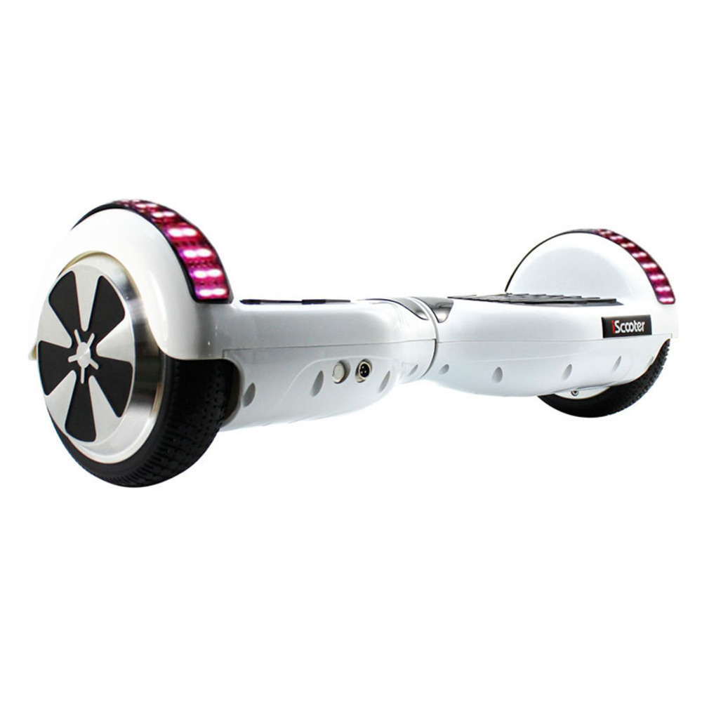 Hot Iscooter Bluetooth 6 5 Inch Hoverboard 2 Smart Steering wheel Electric Skateboard Self Balancing Scooter Balance Hover Board in Self Balance Scooters from Sports Entertainment