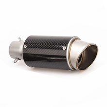 Universal 51mm Motorcycle Exhaust Modified Scooter Muffle Fit For Most ATV with Sticker