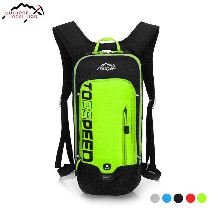 LOCAL LION 6L Waterproof Bicycle Backpack, Men's Women MTB Bike Water Bag, Nylon Hiking Camping Cycling Hydration Backpack