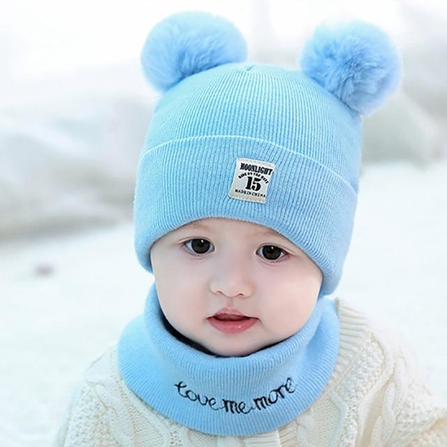 97263eb3c cute knitted baby boy hats cheap