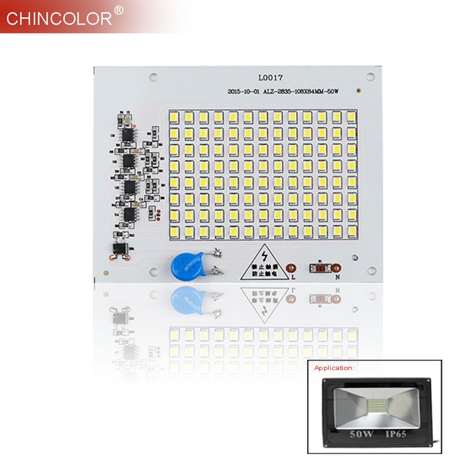 LED Source Chips Lamp 10W 20W 30W Smart IC 220V SMD 2835 For Outdoor Flood Light Not Need Led Driver Top Brightness Long Life L