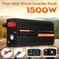 Solare Inverter Inversor Solare 1500W DC12V/24 V/48 V per AC220V Onda Sinusoidale Pura Converter per inverter per La Casa Fai da Te