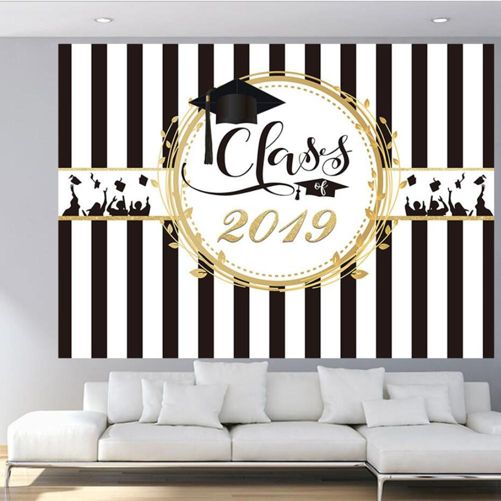 Graduation Party Backdrop Class 2019 Photography Background Congrats Grad Prom Decor Photo Studio Booth Props Cake Table BannerGraduation Party Backdrop Class 2019 Photography Background Congrats Grad Prom Decor Photo Studio Booth Props Cake Table Banner