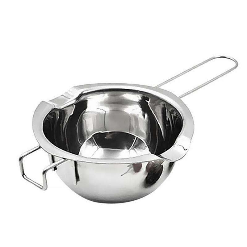 Stainless Steel Chocolate Melting Pot Double Boiler Milk Bowl Butter Candy Warme