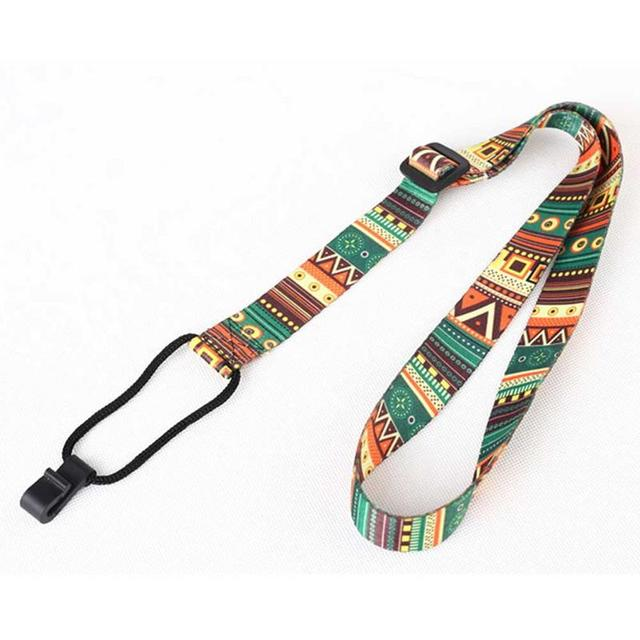 Ethnic Style Colorful Ukulele Strap Thermal Transfer Ribbon Durable Little Guitar Belt Musical Instrument Accessories 4
