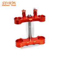 Motorcycle CNC Upper Lower Triple Clamps Bar Mount For KTM SX 125 150 200 250 300 350 400 450 500 525 EXC EXCF 125 530 2003 2013