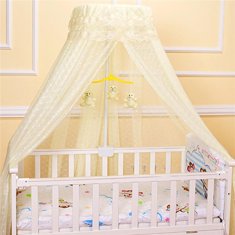 Baby Round Mosquito Net Hung Netting Bed Canopy For Kids Bedroom Mosquito Net