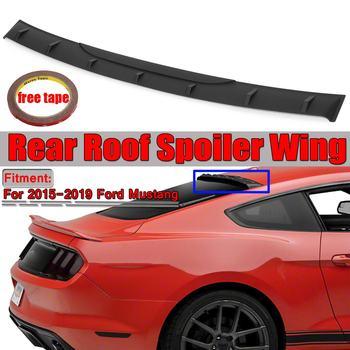 高品質 Abs 車ーリアルーフスポイラーウイングフォードマスタング 2015 2016 2017 2018 2019 MP スタイルリアスポイラーウイングス