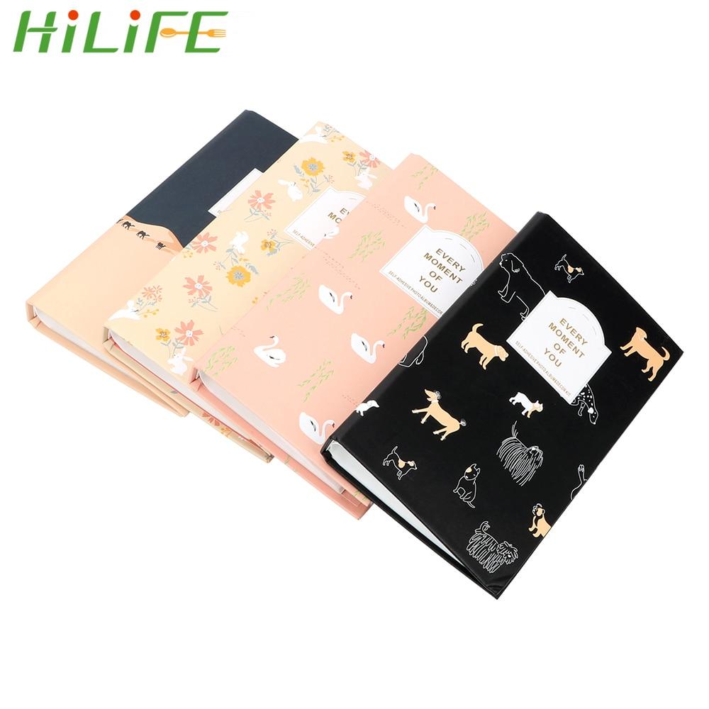 HILIFE 84 pochettes Mini instantané Polaroid Photo Album cadeau pour Fujifilm Instax Mini Film instantané Photo étui stockage créatif