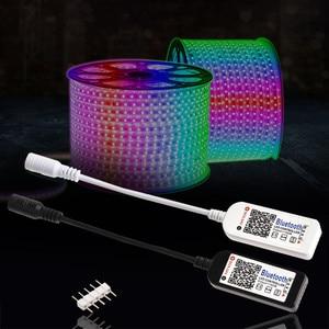 Image 5 - LAIDEYI DC 12V מיני LED RGB בקר 4 ערוץ Bluetooth RGBW Led בקר IOS/אנדרואיד APP עבור RGB LED רצועת אור