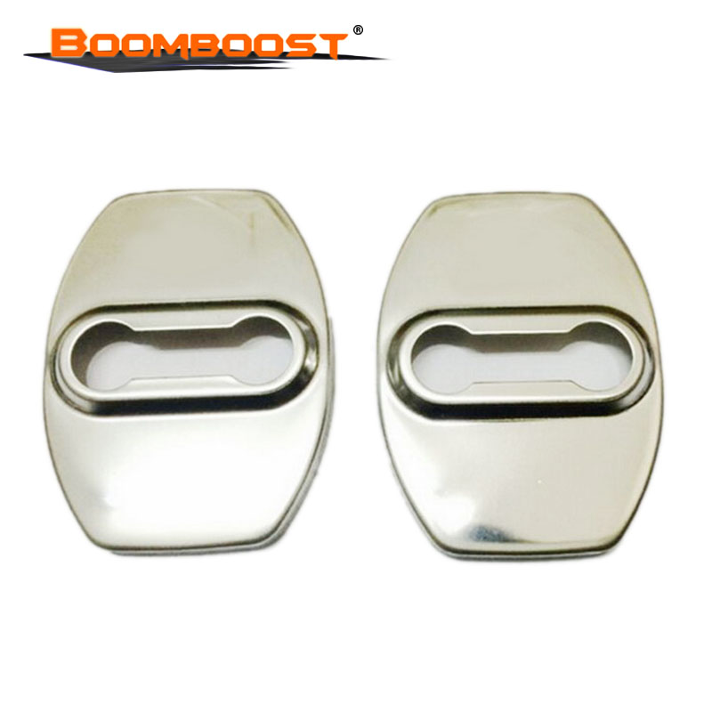 For T/OYOTA Highlander Camry corolla stainless steel lock buckle cover rust proof cover Toyota