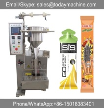 small 3-side 4 side FFS sachet packaging machine for granule powder liquid shampoo sauce seasoning