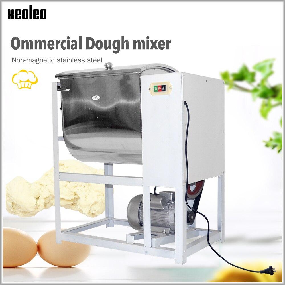 Mélangeur de pâte Commercial XEOLEO 5/15/25 kg machine de malaxage de pâte machine 2200 W 220 V seau en acier inoxydable