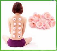 Medical Silicone Cups Anti cellulite Vacuum Massage Therapy Cupping Cups Set Glass Facial Self treatment Cupping Therapy 150pcs