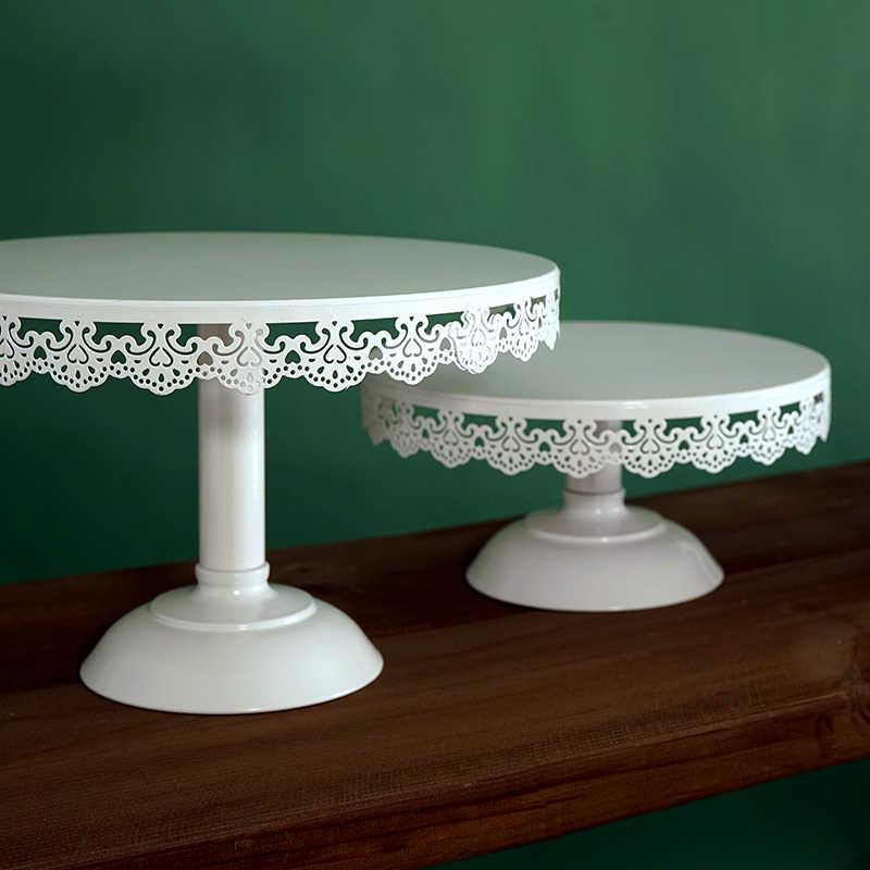 งานแต่งงานเค้กคัพเค้กสีขาวถาดขอบลูกไม้เค้กเครื่องมือตกแต่งโต๊ะตกแต่ง PARTY ซัพพลายเออร์