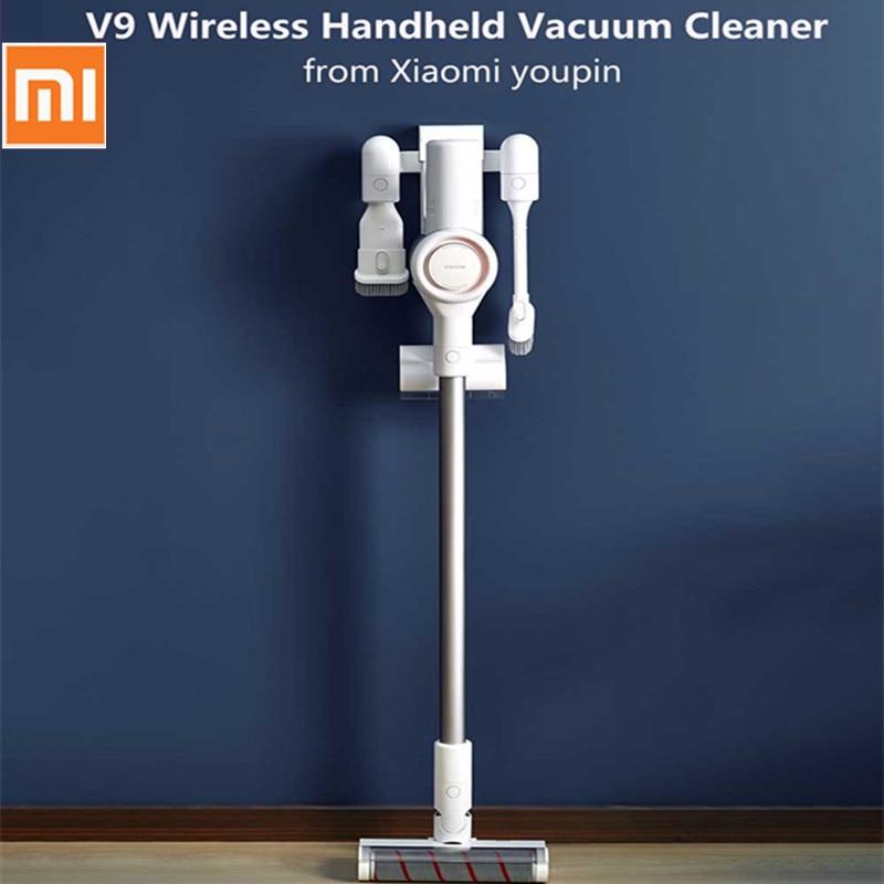 original xiaomi dreame v9 vacuum cleaner handheld cordless stick vacuum cleaners 400w 20000pa. Black Bedroom Furniture Sets. Home Design Ideas
